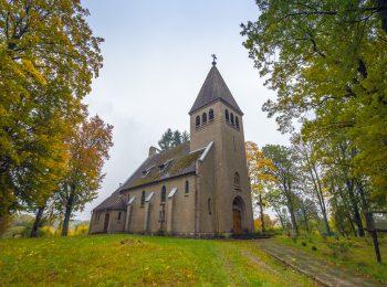 Neogotycki Kościół pw. Jana Chrzciciela w Chmielnie