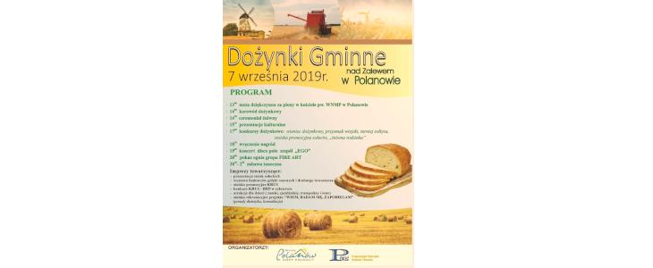 Dożynki Gminne w Polanowie – 07 września 2019 r.