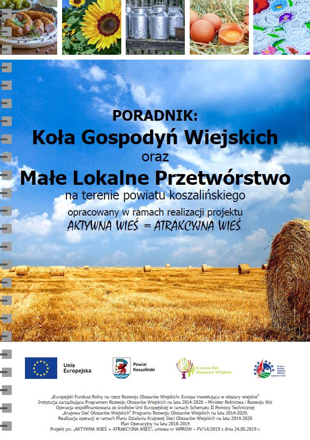 Poradnik Koła Gospodyń Wiejskich oraz Małe Lokalne Przetwórstwo
