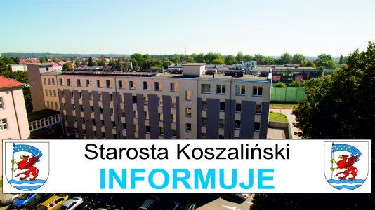 Zarządzenie Starosty Koszalińskiego