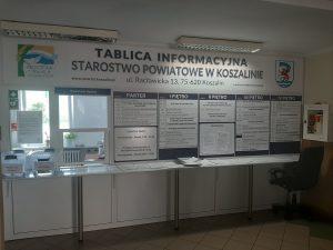 zdjęcie tablicy informacyjnej