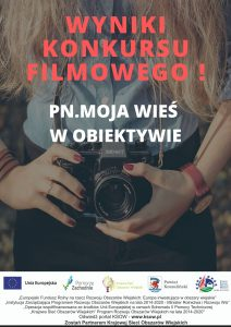 """Wyniki konkursu filmowego pn. """"Moja wieś w obiektywie"""" – kategoria praca zbiorowa"""