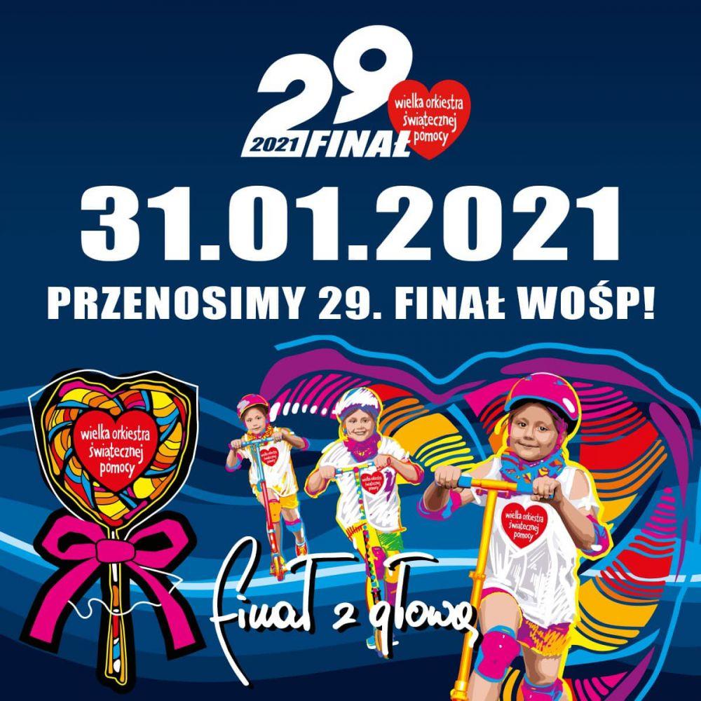 Logo 29.Finału WOŚP 2021