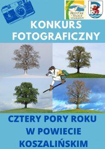 Konkurs fotograficzny – Cztery pory roku w powiecie koszalińskim