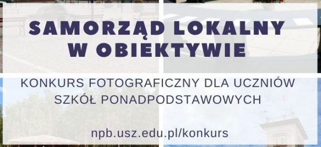 """Konkurs """"Samorząd lokalny w obiektywie"""""""