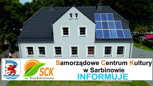 Ogłoszenie o przetargu na dzierżawę działek (Sarbinowo, gm. Mielno)
