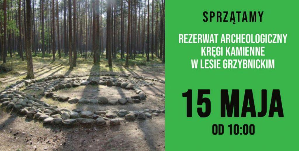 sprzątanie 15 maja kamienne kręgi manowo