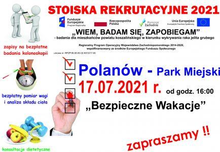 17.07.2021 Bezpiecznie w Polanowie