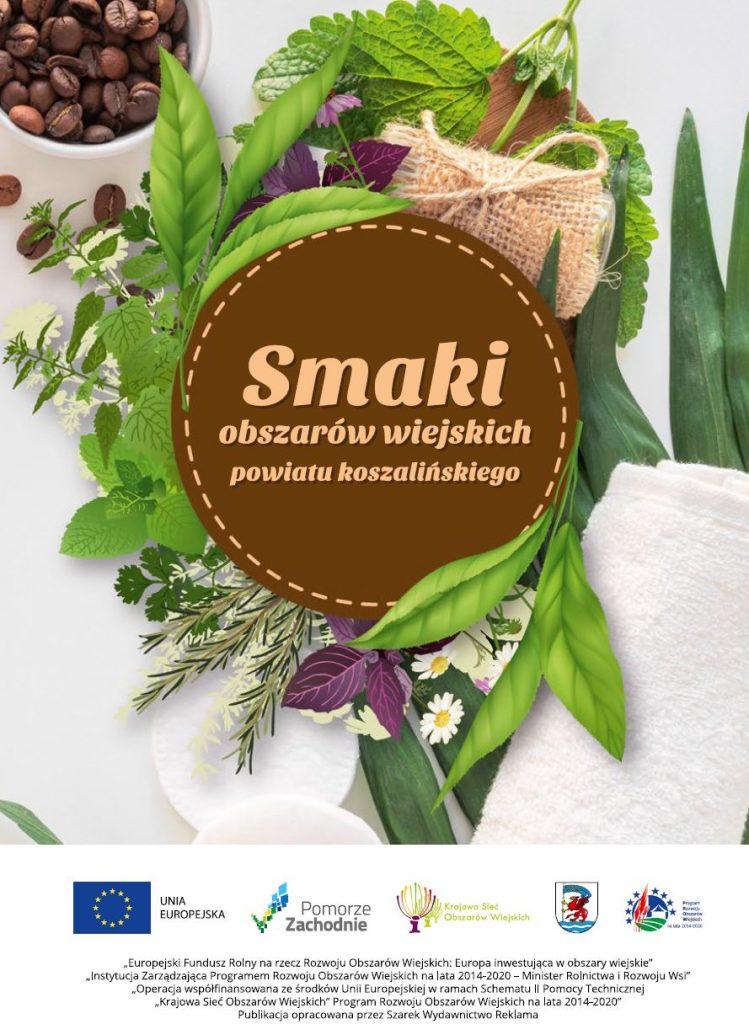 okładka publikacji smaki obszarów iejskich powiatu koszalińskiego